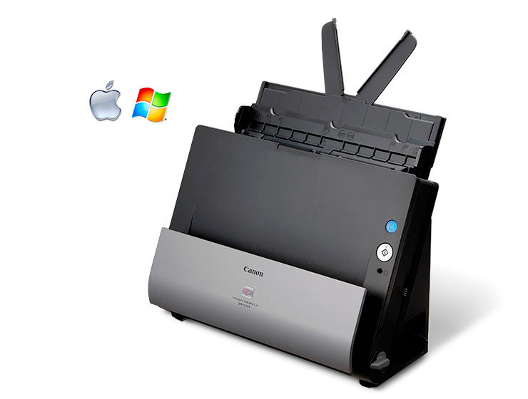 scanners de bureau canon dr c125 mach scanners solutions. Black Bedroom Furniture Sets. Home Design Ideas