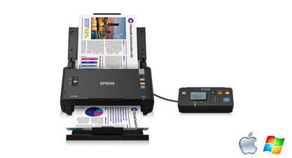 Scanner Réseau EPSON WorkForce DS-520N
